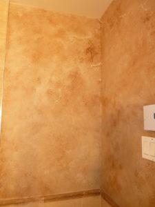 patine sur mur exprimart. Black Bedroom Furniture Sets. Home Design Ideas